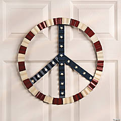 Patriotic Peace Sign Wall Décor