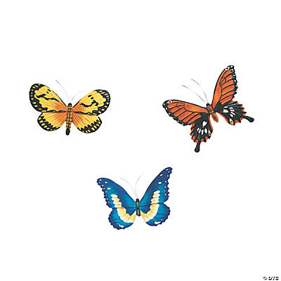 Brilliant Butterfly Wall Hangings