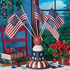Spindle Flag Holder & Flags