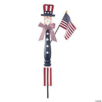 Uncle Sam Spindle Yard Stake