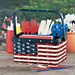 Patriotic Utensil Caddy