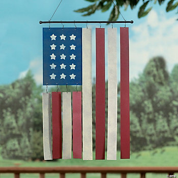 Flag Wind Chimes