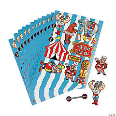 Carnival Sticker Sheets