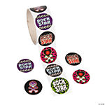 "100 ""Rock Star"" Roll Stickers"