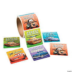 Disney's Cars Roll of Stickers