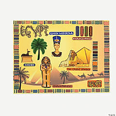 Egyptian Sticker Scenes