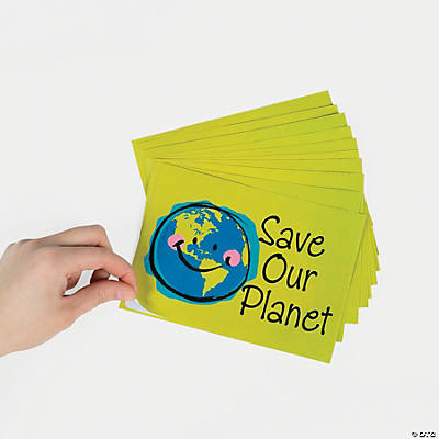 Jumbo Earth Sticker Sheets