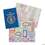 """My Passport"" Sticker Books"