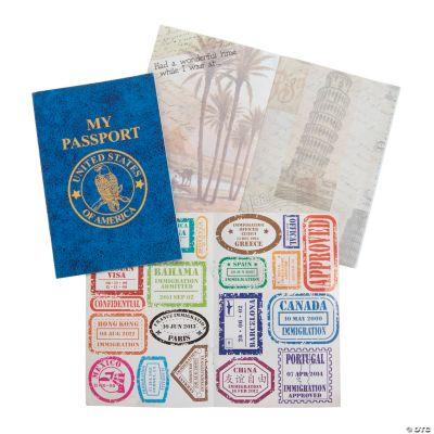 """My Passport†Sticker Books"