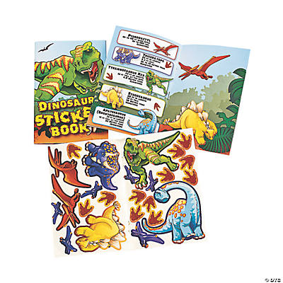 Dinosaur Sticker Books
