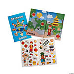 12 Multicultural Sticker Books