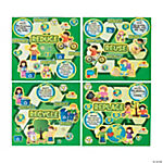 Recycle Learning Sticker Scenes