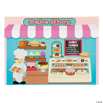 "Sweet ""Bake Shop"" Make-A-Sticker Scenes"