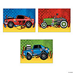 Make-A-Race Car Sticker Scenes