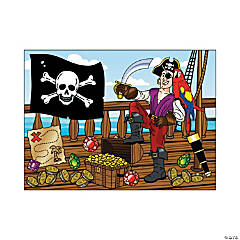 Make-A-Pirate Sticker Scenes