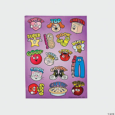 Picture Word Stickers