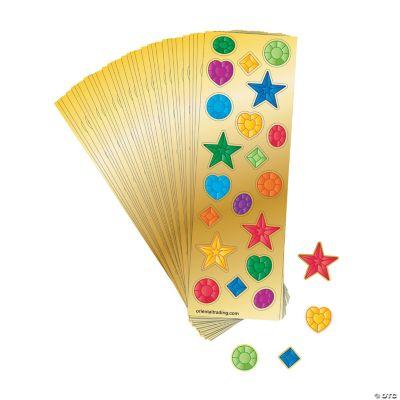 Jewel Sticker Sheets