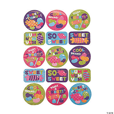 Candy Award Stickers