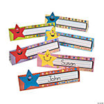 "24 ""Star Student"" Name Tag Tents"