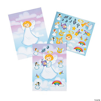 Angel Make-A-Sticker Scenes