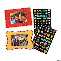 Make-A-Sticker Photo Frame Magnets