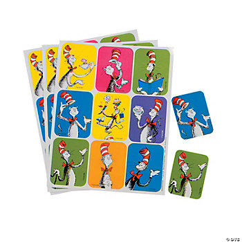 36 Dr. Seuss™ Cat In The Hat™ Stickers