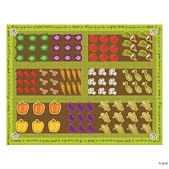 Vegetable Garden Make-A-Sticker Scenes