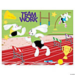 Track & Field Day Make-A-Sticker Scenes