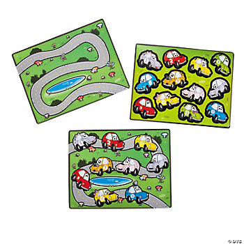 Make-A-Race Track Sticker Scenes
