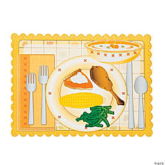 Thanksgiving Plate Stickers