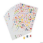 A - Z Sticker Sheets