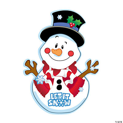Let It Snowman Sticker Scenes