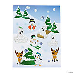 Make-A-Winter Sticker Scenes