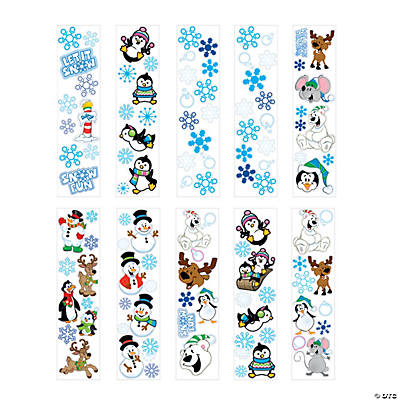 Winter Sticker Assortment