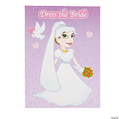 Make-A-Bride Sticker Scenes