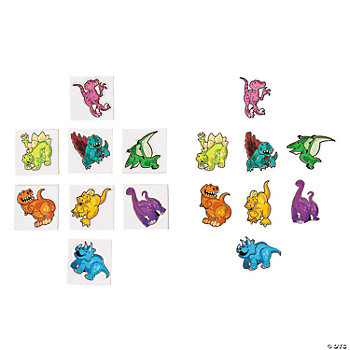 Puffy Dinosaur Stickers