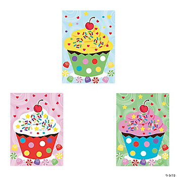 Make-A-Cupcake Sticker Scenes