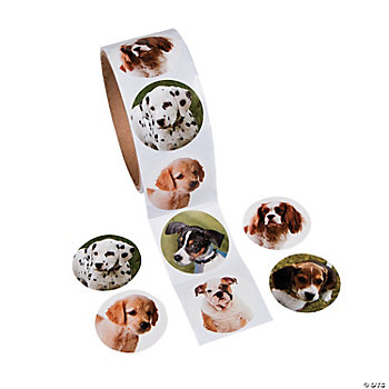 Dog Roll Stickers