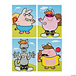 Make-A-Three Little Pigs Sticker Scenes