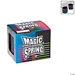 Plastic Metallic Multicolor Magic Springs