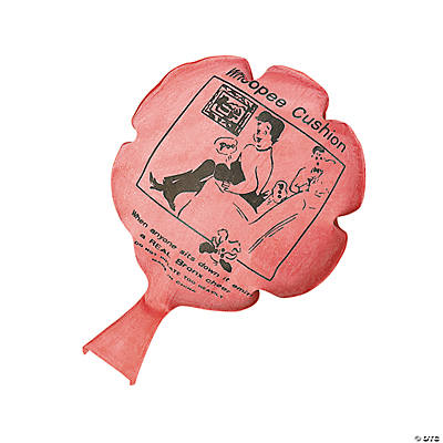 how to make a whoopee cushion without rubber
