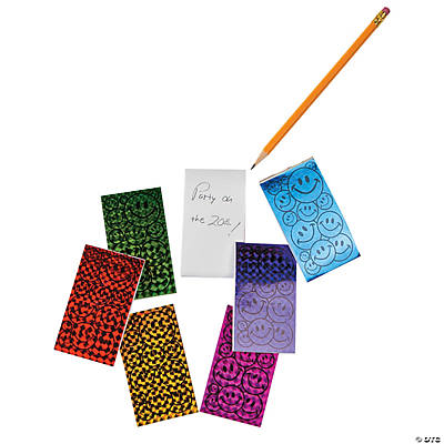 Laser Smile Face Notepads