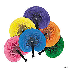 Colorful Folding Fans