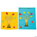 Make-A-Tree of Thanks Stickers