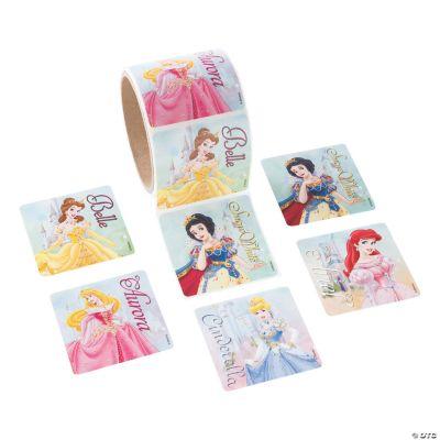Jumbo Disney Princesses Roll of Stickers