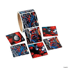 Jumbo Spider-Man™ Sticker Rolls