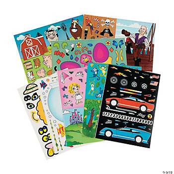 Mega Make-A-Sticker Scene Assortment
