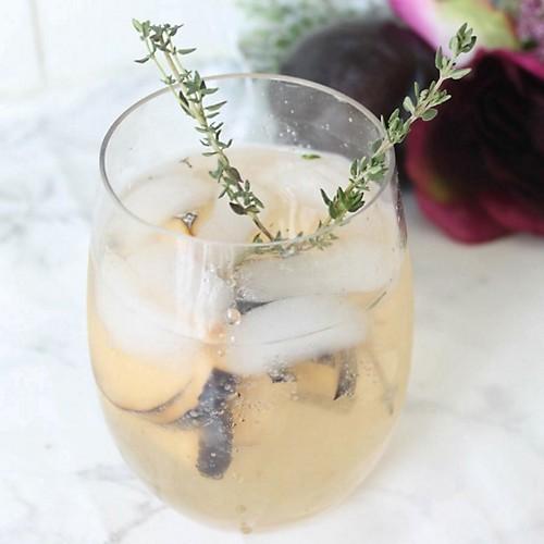 Plum Prosecco Cocktail