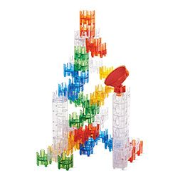 Q-BA-MAZE Warm Colors - Bounce Stunt Tower