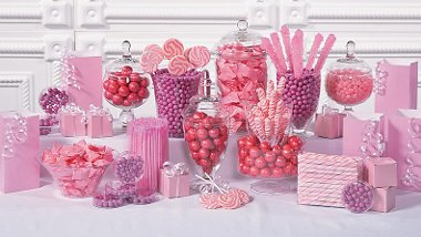 Party Supplies   Pink Candy Buffet